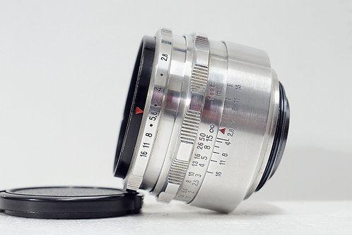 M42 東蔡鷹眼 Carl Zeiss Jena 1Q Tessar 50mm f2.8, Germany (極新淨)