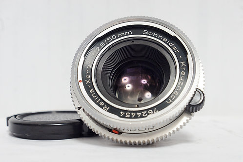 Schneider Kreuznach Xenar 50mm f2.8, West Germany (Very New)