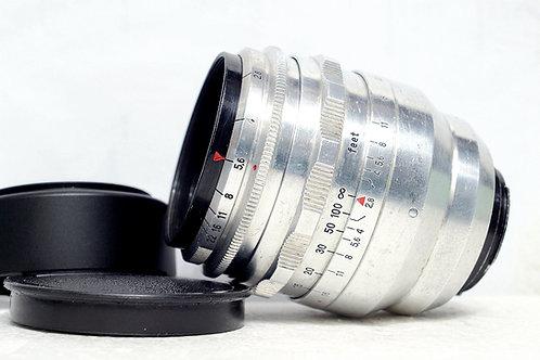 罕有東蔡人像鏡 Carl Zeiss Jena Tessar 1Q Tessar 80mm f2.8 (16葉全圓散景)