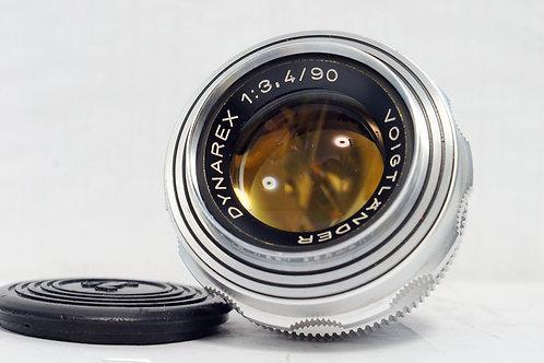 罕有原福人像鏡 Voigtlander Dynarex 90mm f3.4 DKL (非常新淨)
