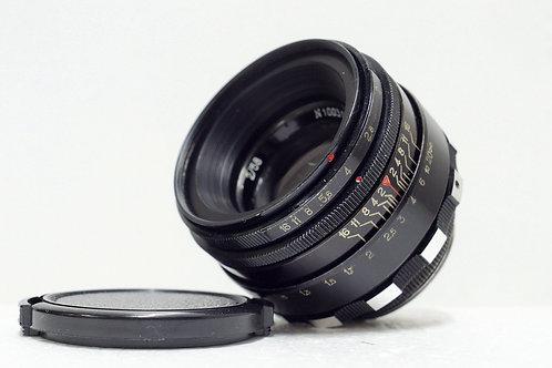 班馬版 八羽怪 Helios 44 2 58mm f2, 70年代USSR (新淨)