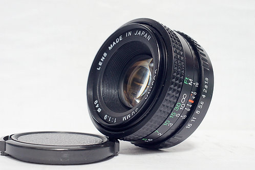 Cosina 50mm f1.9, made in Japan (90%New)