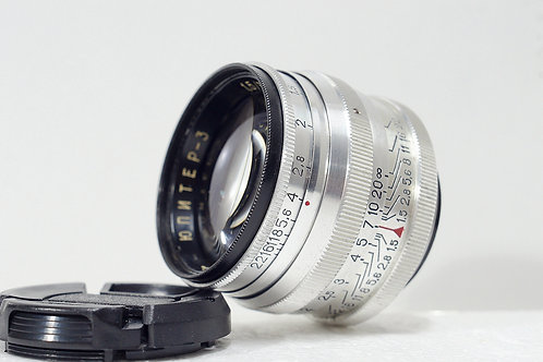蘇俄古董鏡 L39 Jupiter 3 50mm f1.5, 1972年USSR (極新淨)