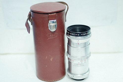 早期白銀 紅V Meyer Telemegor 1Q 180mm f5.5, Germany