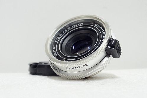 罕見DKL Schneider Xenar 45mm f2.8 (90%New)