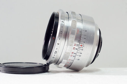 旋散王 Carl Zeiss Jena Biotar 58mm f2, Germany (極新淨)
