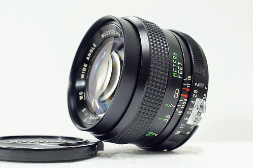 放射性散景 Vivitar Auto MC 28mm f2, Japan (90%New, for Nikon)