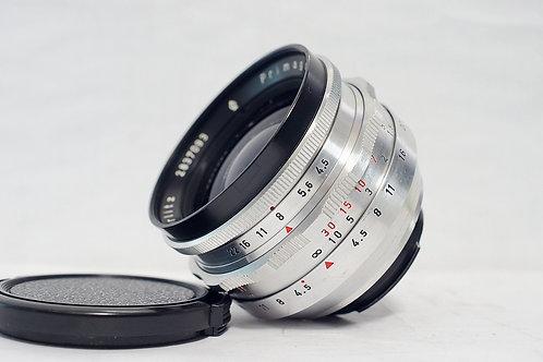 東德白銀小廣角 Meyer Primagon 1Q 35mm f4.5 (非常新淨)