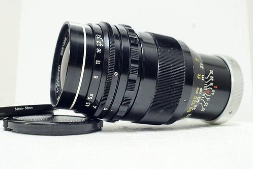 M42 罕有西德海爾 Steinheil Tele Quinar 200mm f4.5, Germany (非常新淨)