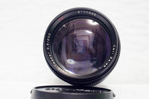 Contax Carl Zeiss T* Tele-Tessar 200mm f3.5 AEG, Germany(90%New)