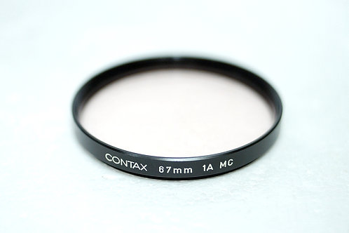 67mm 絕版 Contax CY Carl Zeiss 1A MC UV Filter