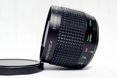 Reflex 反射鏡 Hanimex MC 300mm f5.6 (90%New, 近乎全新)