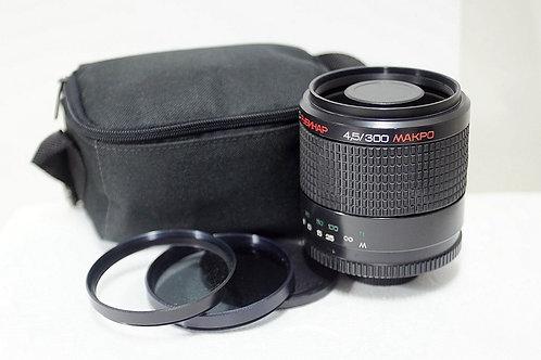 俄仔反射王 Rubinar Makpo MC 300mm 4.5, Made in USSR (非常新淨)