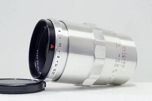 早期白銀 Carl Zeiss Jena 1Q Sonnar 135mm f4 (接新90%New)