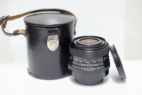 M42 Carl Zeiss Jena Flektogon MC 35mm f2.4 (90%New, 5位序號)