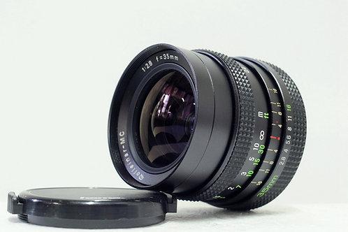 Rollei Rolleinar MC 35mm f2.8, QBM, Japan (近乎全新)