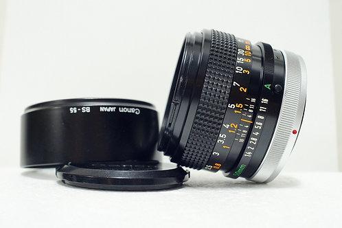 大光圈標頭王 Canon FD S.S.C 50mm f1.4, FD Mount (90%New)