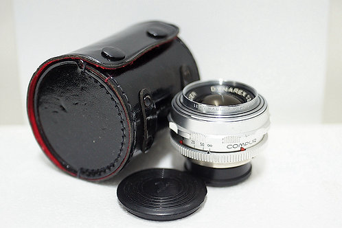 罕有原福人像鏡 Voigtlander Dynarex 90mm f3.4 DKL (接近90%New)
