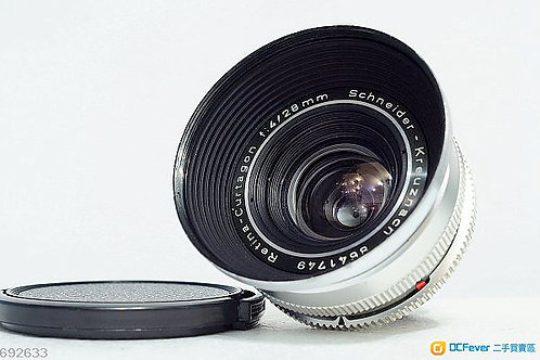 Schneider Retina Curtagon 28mm f4, DKL Mount