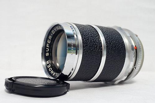 Voigtlander Super Dynarex 135mm f4, Germany (非常新淨)