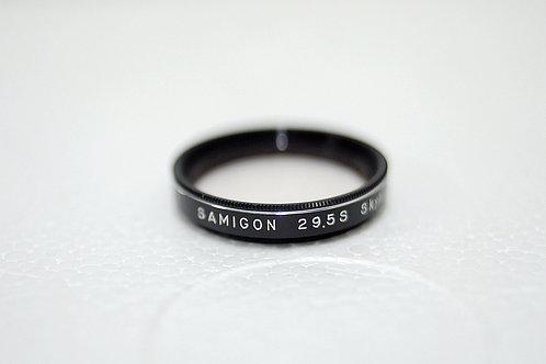 29.5mm Filter Samigon Skylight filter for Schneider 50mm, 85mm DKL (90%New)