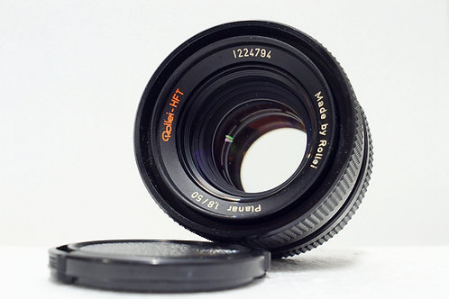 Rollei Planar HFT 50mm f1.8, Made in Singapore (90%New)