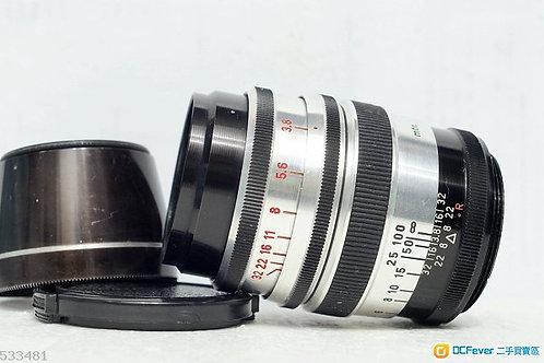 M42 Kilfitt APO Kilar C 135mm f3.8, West Germany (16片光圈葉)