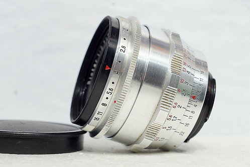 東蔡小B 紅T Carl Zeiss Jena Biotar 58mm f2 (新淨)