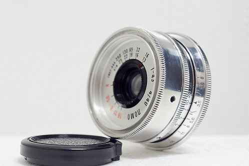 白銀版俄仔 L39 Lomo T-43 40mm f4, Made in USSR (極新淨)