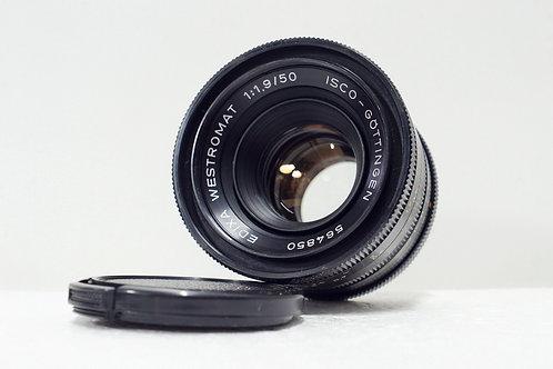 西德 ISCO Edixa Westrocolor 50mm f1.9, West Germany