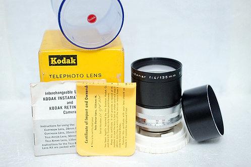Schneider Retina Tele Xenar 135mm f4 (Full Set, 90%New)