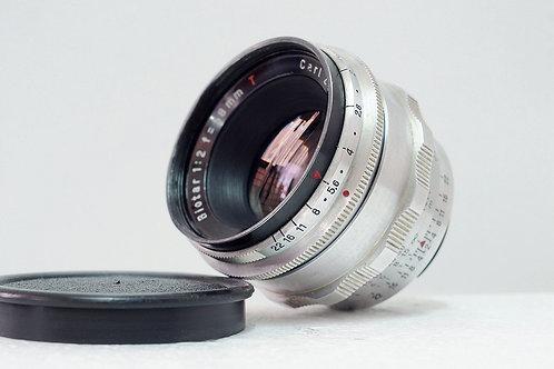 東蔡小B 紅T Carl Zeiss Jena Biotar 58mm f2 (12葉版本, 極新淨)