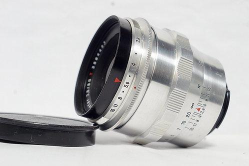 東蔡白銀雙高斯 Carl Zeiss Jena 紅T Biometar 80mm f2.8 (極新淨, 12葉)