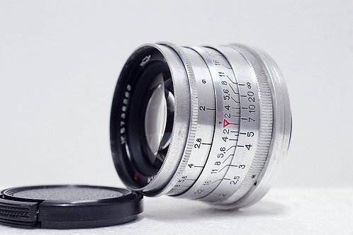 L39 Jupiter 8 Sonnar 50mm f2, 最早期1957年USSR (極新淨)