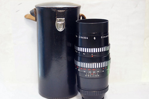 早期班馬版 Meyer Orestegor 1Q 200mm f4, 16片光圈葉(接近90%New)