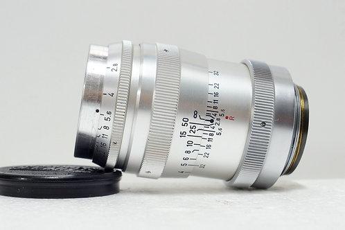 Leica L39 西德海爾 Steinheil Munchen Culminar 85mm f2.8 (接近90%New)