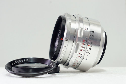 M42 雙銘環 東蔡鷹眼 Carl Zeiss Jena 1Q Tessar 50mm f2.8 (鏡身90%New)