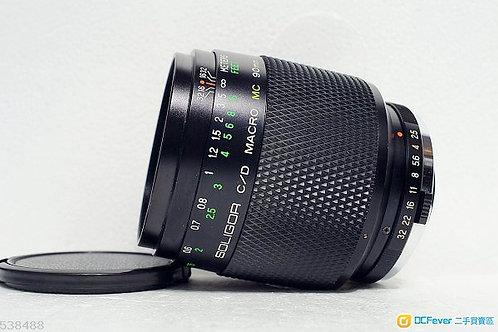 1比1 Macro Soligor C/D MC 90mm f2.5 for A7系列 (90%New)