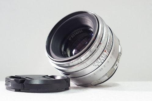 白銀版八羽怪 Helios 44 2 58mm f2, 1950年USSR (新淨)
