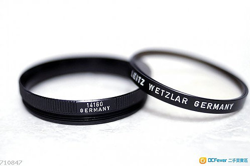 Leica R UV Filter 14160, 細咀 Elmarit 35mm, Summicron 50mm, (90%New)