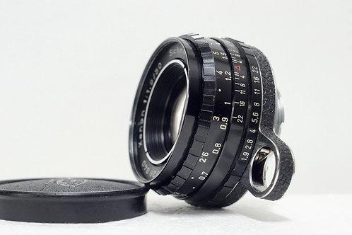 真水無香 Schneider Xenon 50mm f1.9, Germany (非常新淨, 只能全開)