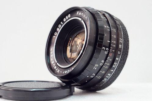 M42 真水無香 Schneider Xenon 50mm f1.9 Germany (新淨)