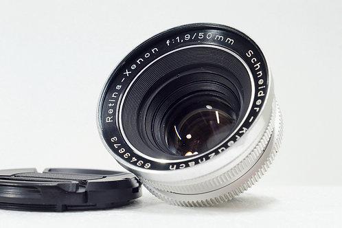 真水無香標頭王 Schneider Retina Xenon 50mm f1.9 (極新淨)