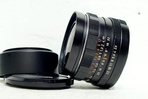 M42 Pentacon / Meyer MC 29mm f2.8, Germany