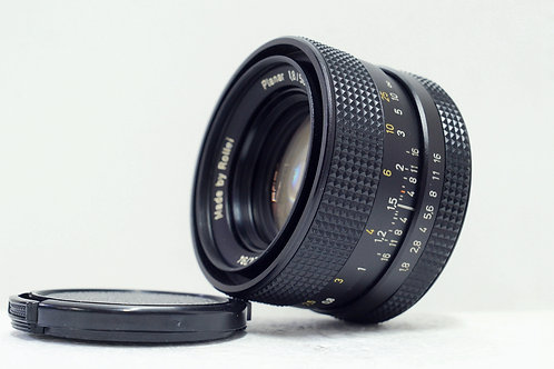 QBM Rollei Planar HFT 50mm f1.8, Made in Singapore (極新淨)
