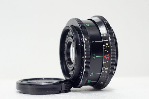 M42 蘇俄餅鏡 Industar-50 50mm f3.5, 1972 USSR (新淨)