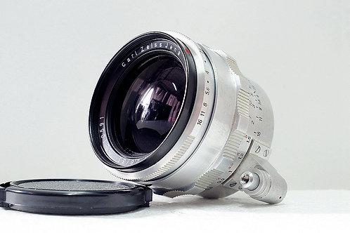 東蔡三寶白銀版 Carl Zeiss Jena Flektogon 35mm f2.8 (極新淨)