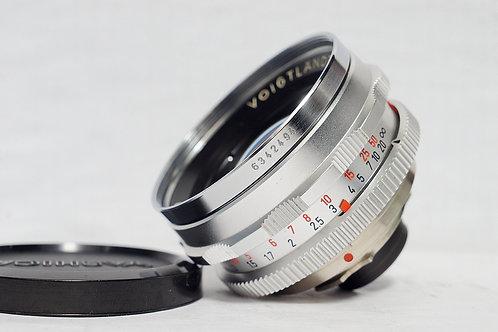 經典西德原福 大光圈標頭王 Voigtlander Septon 50mm f2 (90%New)