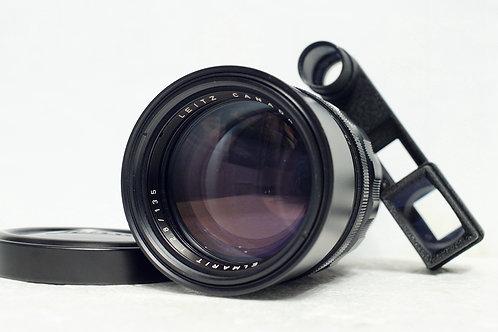 Leica M Elmarit 135mm f2.8, 早期紅字版 (極新淨)