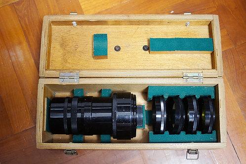 罕見蘇俄反射鏡 Mirror MTO 500mm f8, 1965年USSR